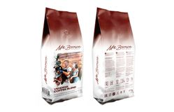 Mr.Brown «Vending Coffee Blend» кофе в зернах 1кг