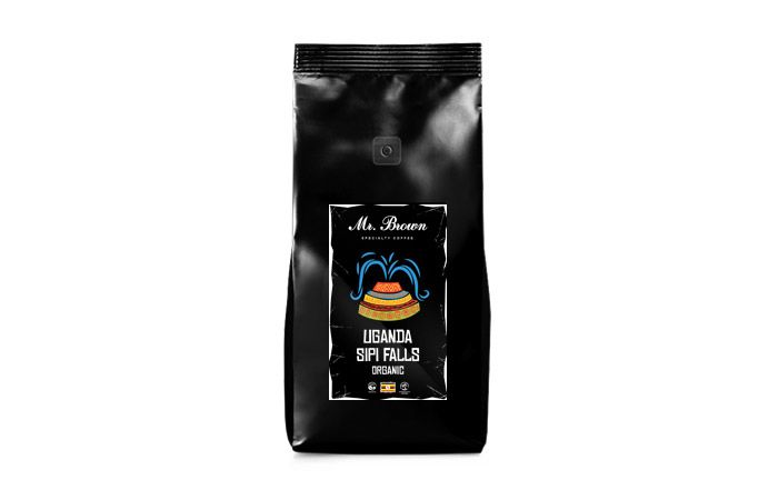 Mr.Brown Specialty Coffee «Uganda Sipi Falls Organic» кофе в зернах 1кг